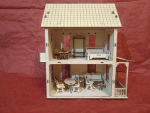 как собрать кукольный домик