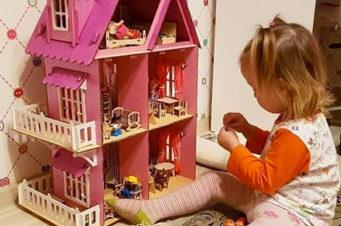 кукольный домик огонек