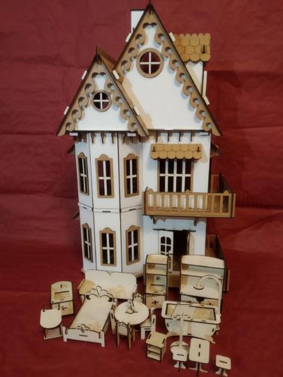 конструктор кукольный домик